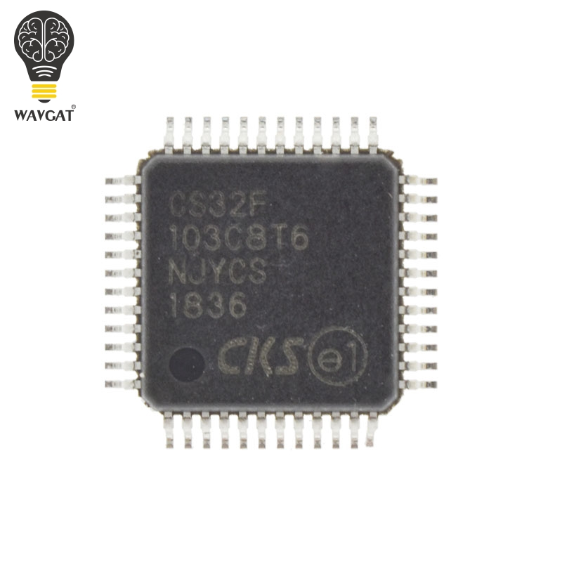 CS32F103C8T6 Completely replace STM32F103C8T6 STM32F103 LQFP 48 In Stock  ARM based 32 bit MCU with Flash for STM32-in Integrated Circuits from