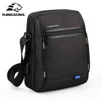 Kingsons Famous Brand Men Bag Casual Business Mens Messenger Bags Vintage Men S Crossbody Bag Bolsas
