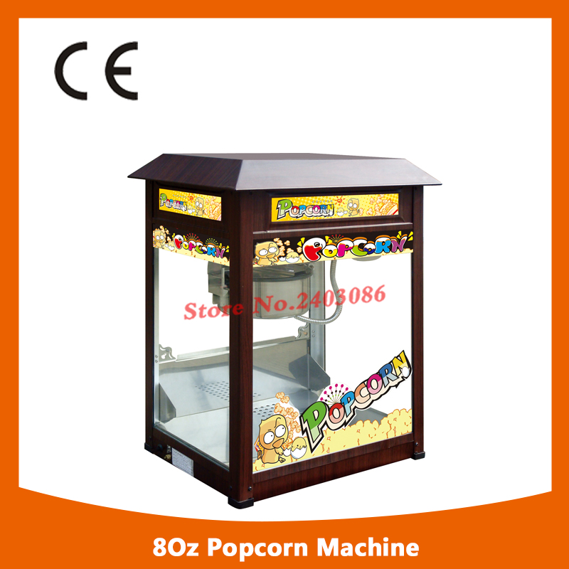 Professional snack equipment Automatic Electric 80z hot air kettle Popcorn making Machine for cinema fast food equipment automatic use popcorn machines for sale high quality use popcorn machines for sale caramel popcorn machine