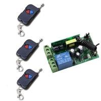 AC 85V 110V 220V 250V 1CH 10A RF Multi Function Wide Voltage Learning Type Wireless Remote