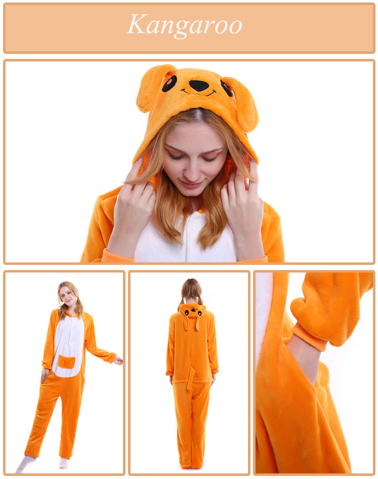kangaroo adult onesie kigurumi for women