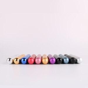 Image 2 - 11 renkler 5ml taşınabilir Mini boş parfüm şişeleri doldurulabilir püskürtücü yüksek kaliteli alüminyum parfüm pompalı sprey şişe