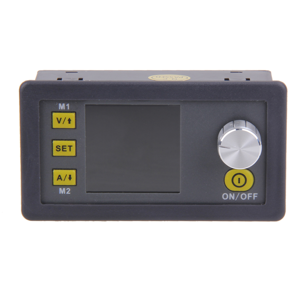 Constant Voltage current Step down Programmable Power Supply module buck Voltage converter color LCD voltmeter