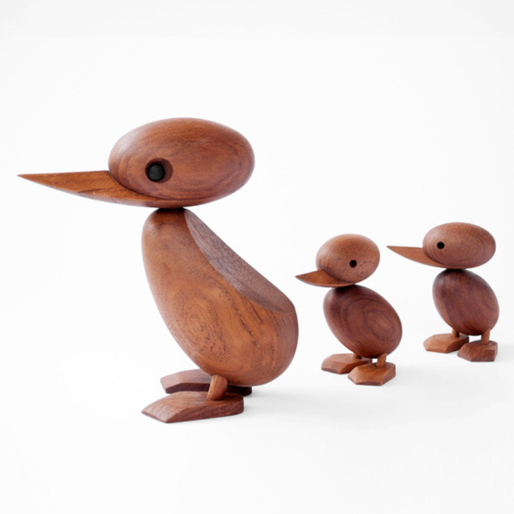 декоративные деревянные утки