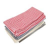 43x43 см хлопок льняные салфетки набор 12 коврик обеденный стол Удобная салфетка ткань стол салфетки фон