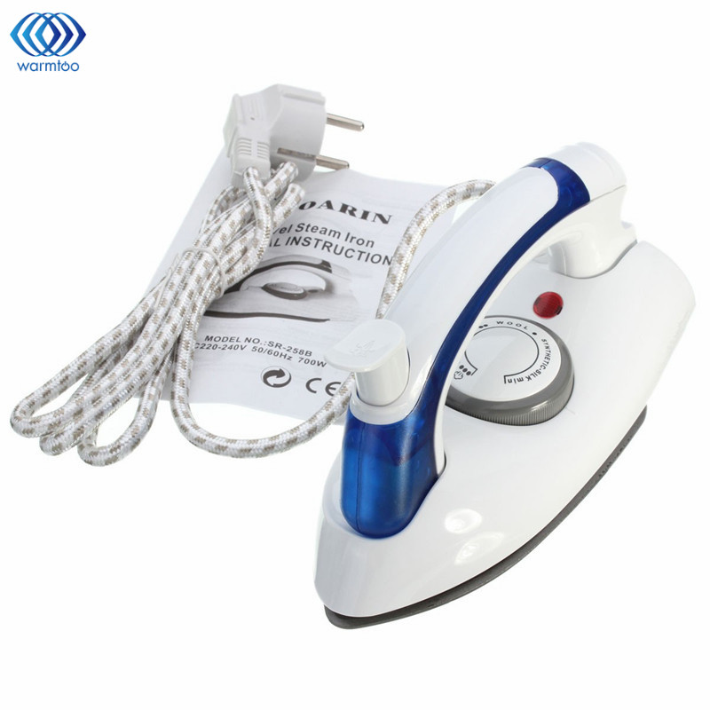 Handheld Steam Electric Iron Foldable Temperature Control Dual Voltage 700W 220V Household Travel Iron EU plug