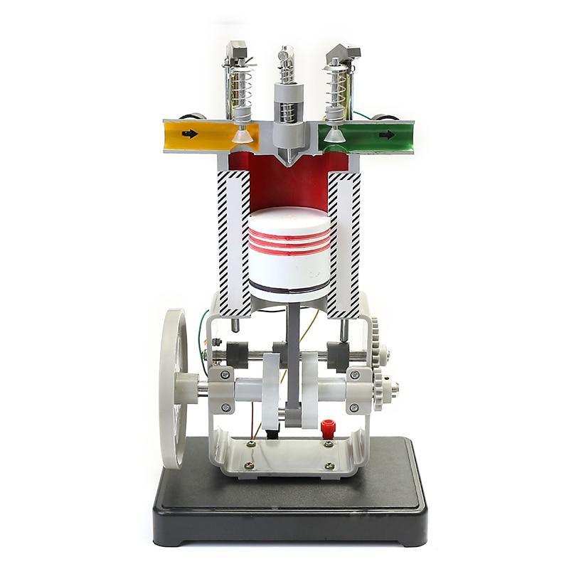 Diesel Engine Model J2256 Teaching Instrument Physics Mechanics Experimental Toy diffraction physics