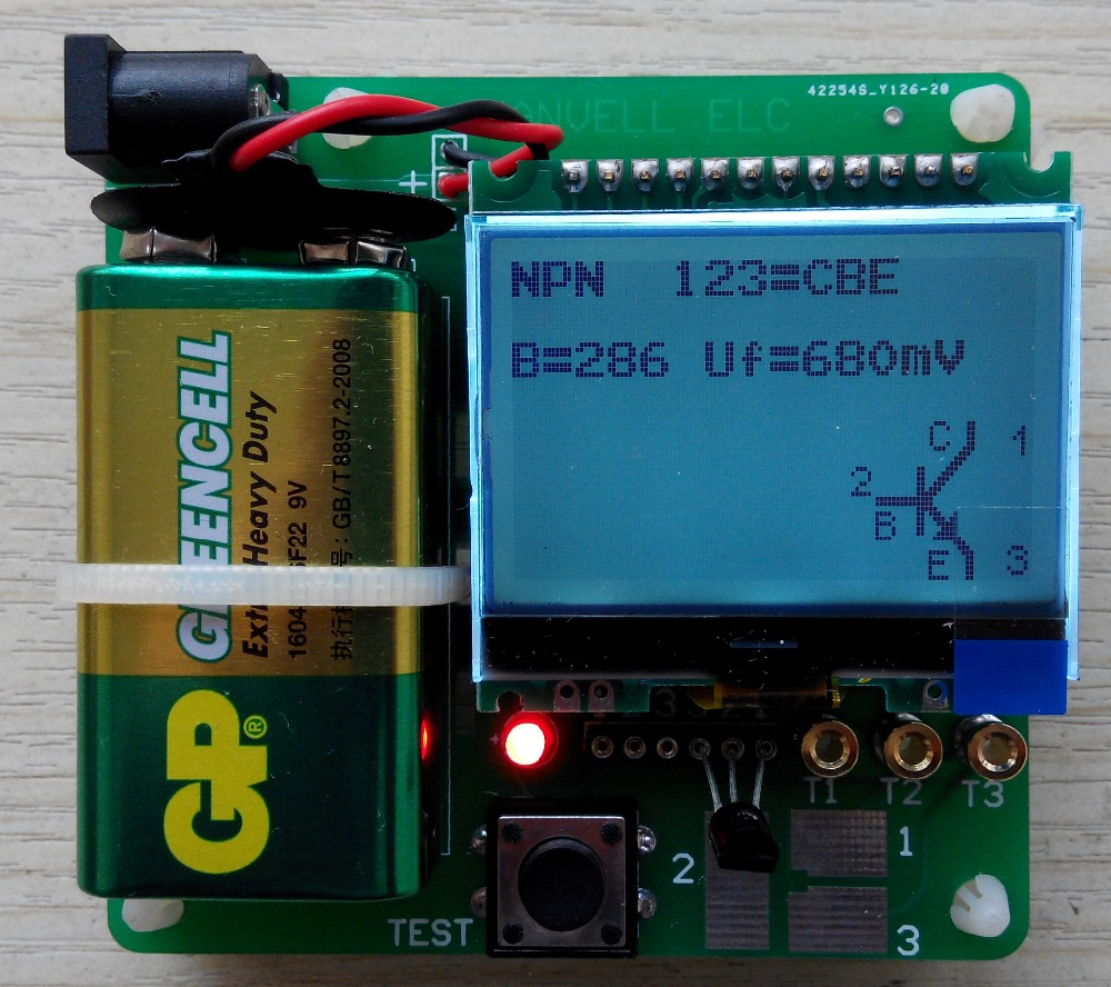 Diy Esr Meter : New v version of inductor capacitor esr meter diy mg