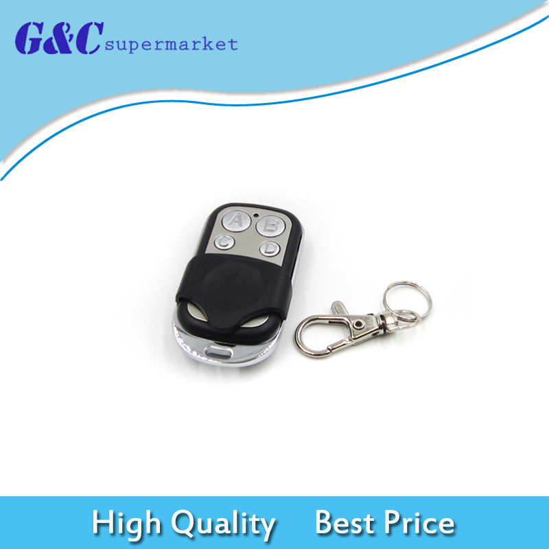 Universal Wireless 433Mhz Remote Control Electric Cloning Gate Garage Door Auto Keychain For Door And Car