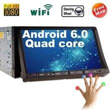 2 din android 6.0 radio car dvd player gps navigator tape recorder autoradio cassette player for auto radio car multimedia gps