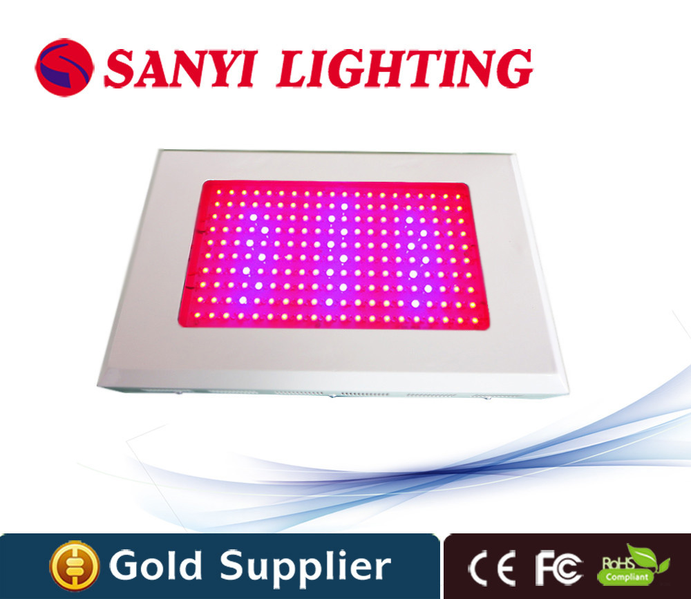 Led grow light red blue 600w 800w 1000w 200x3w square plant lamp for Indoor Grow plant vegetables and flower
