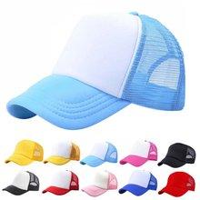 10 Färg New Toddler Boy Girls Peaked Hat Hot Snapback Cap Baby Kids Baseball Hat