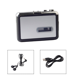 Image 2 - Draagbare Cassette Speler Recorder Standalone Audio Muziek Recorder Cassette Naar MP3 Converter Bespaar In Usb Flash Drive
