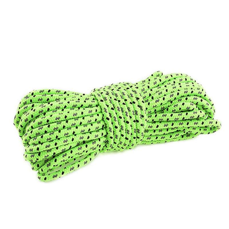 10M Outdoor Climbing Rope Rock Ice Climbing Equipment High Strength Survival  Safety Rope Climbing Accessory