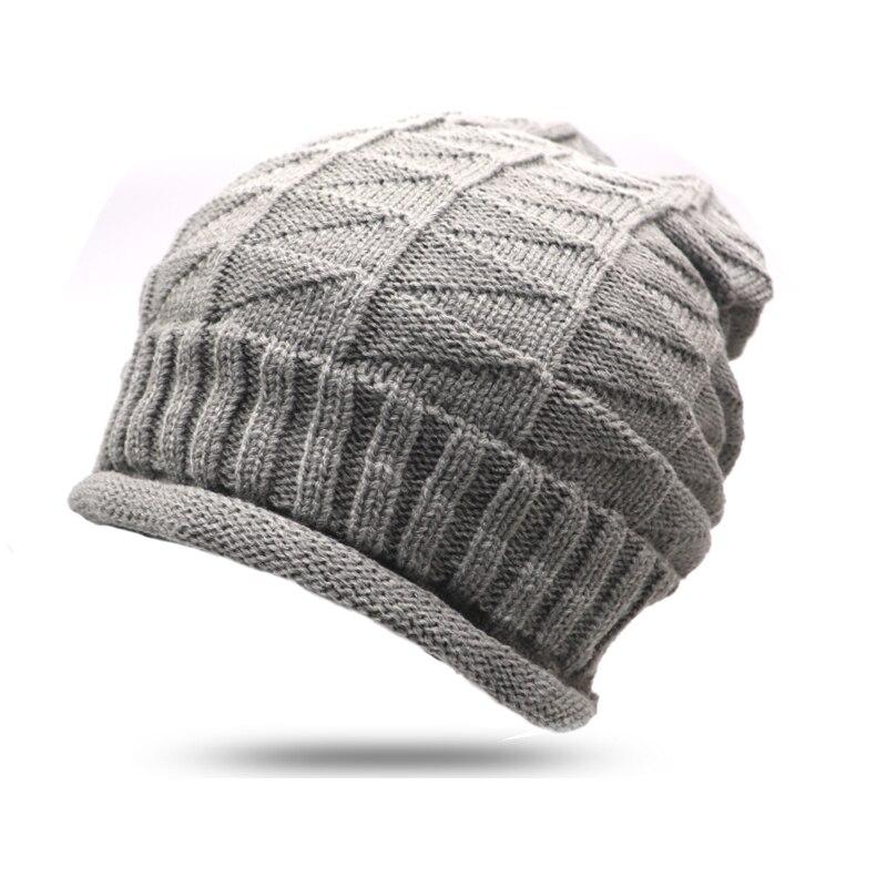 2 Pcs Ferien Verkauf Herbst Stricken Wolle Hut Für Frauen Kappe Dame Gestrickte Hüte Beanie Cap 2017 Neue Winter Mützen Einfarbig Hut