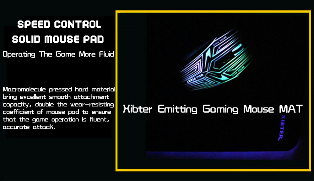 mouse pad speed control