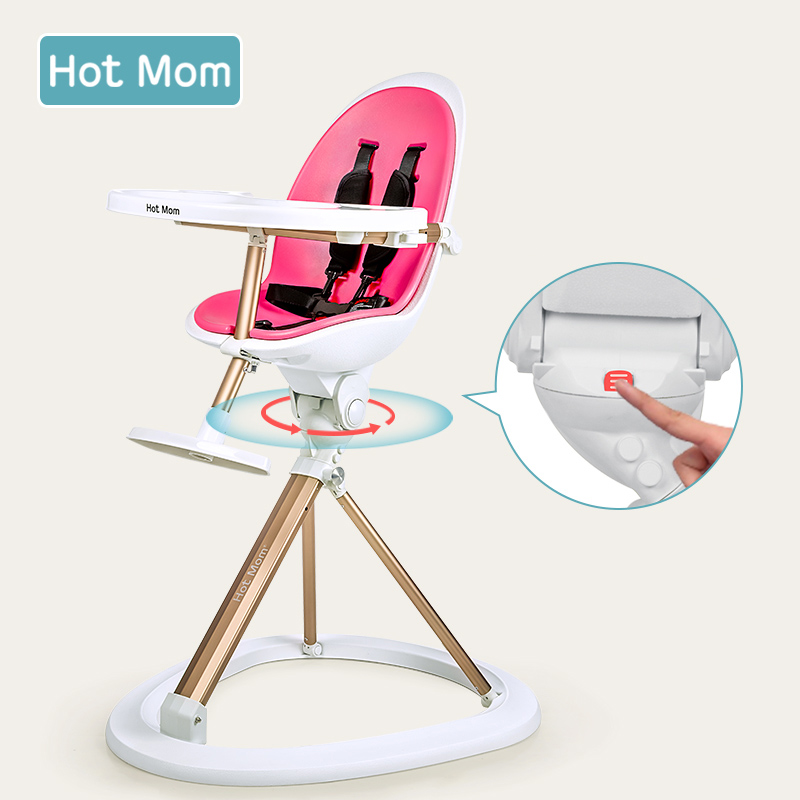цена на Baby Dining Chair Multifunctional Baby Dining Table Portable Folding Chair Adjustable Child Dining Chair