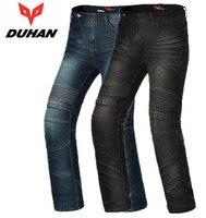 DUHAN Men's Motorcycle Riding Pants Motobike Moto Windproof Jeans Knee Protective Motocicleta Racing Casual Trousers