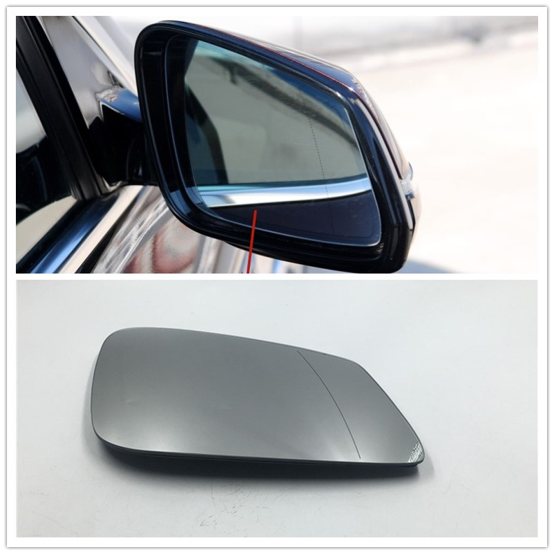 Heated Aspherical Right Side Mirror Glass Fits BMW 5 F07 F10 F11 2009