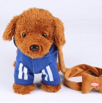 Elektrische Leine Hund Plüsch Spielzeug Musik Maschinen Fernbedienung Leine Hund Elektronische Spielzeug Für Kinder Weihnachtsgeschenk Tamagochi