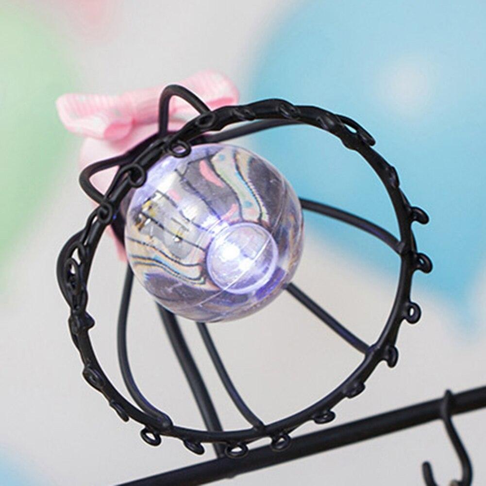 Bedside Little Girl Swing Night Light Ornament for Home Living Room HYD88