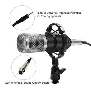 Image 5 - Professional bm 800 Condenser Microphone 3.5Mm Wired Bm 800 karaoke BM800 Recording Microphone for Computer Karaoke KTV
