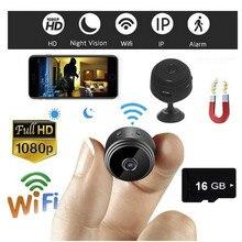 A9 HD 1080P мини-камера, беспроводная, Wi-Fi, для безопасности, ночного видения, движения, 16 ГБ, TF карта с видео, камерой, циклической записью