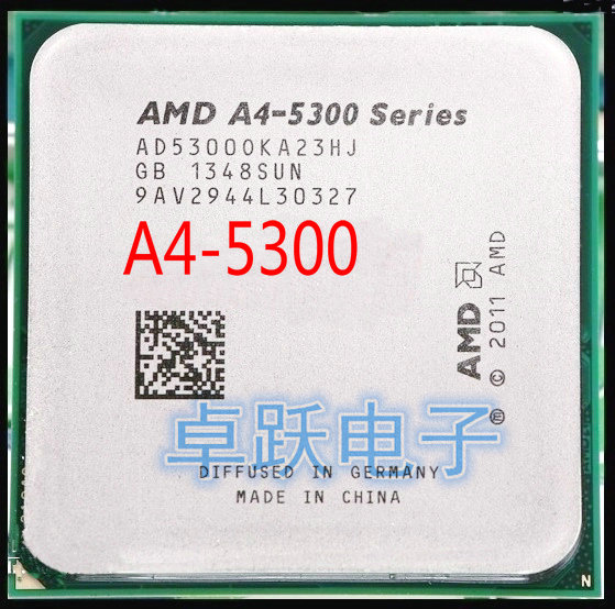 Amd A4 5300 3 4 G L2 1 M Dual Core Soquete Fm2 A4 5300 Cpu 65w Dual Core A4 Series Working 100 Free Shipping Soquete Fm2 Amd A4 5300amd A4 Aliexpress