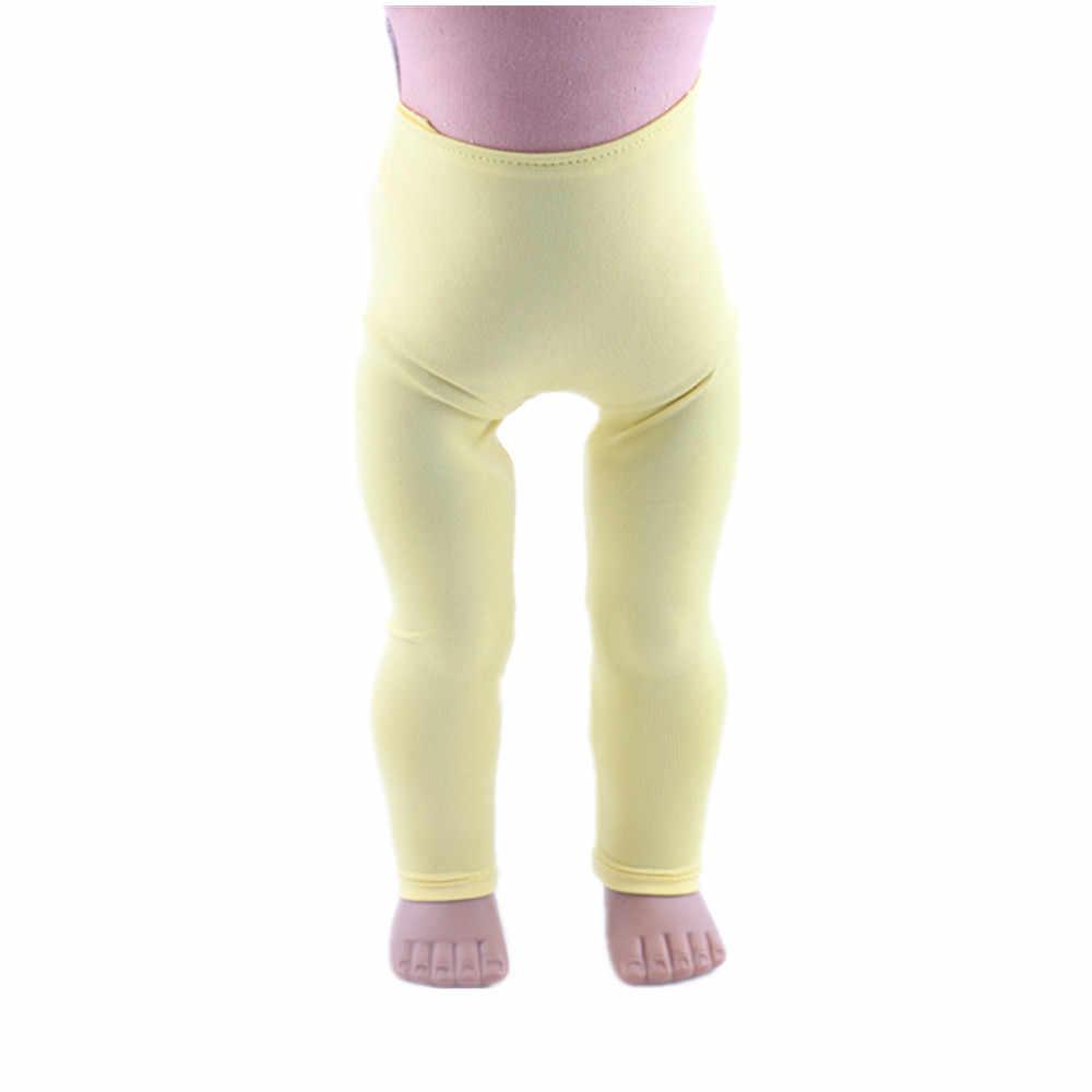 ผู้ผลิตโดยตรง, 8 สี Leggings 18 นิ้วตุ๊กตาเสื้อผ้าอุปกรณ์เสริม! b861-b868