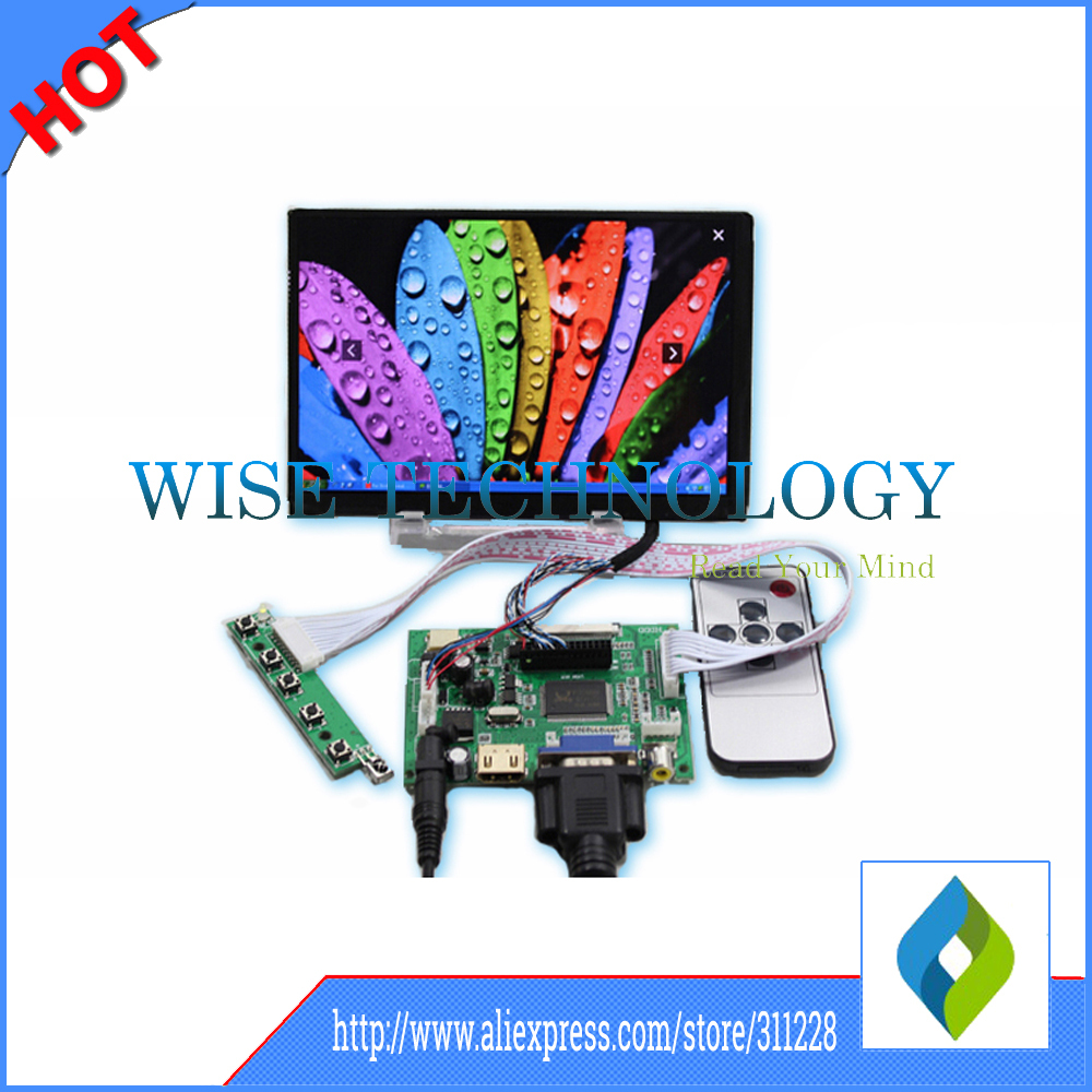 7 inch LCD screen display Control Driver board HDMI VGA 2AV 1280x800 tablet pc LCD N070ICG