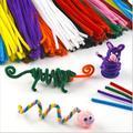 30 pçs/lote Top De Lã das Crianças Brinquedos Educativos brinquedos DIY materiais shilly-vara Vara de Pelúcia feitos à mão arte brinquedos de Natal venda quente