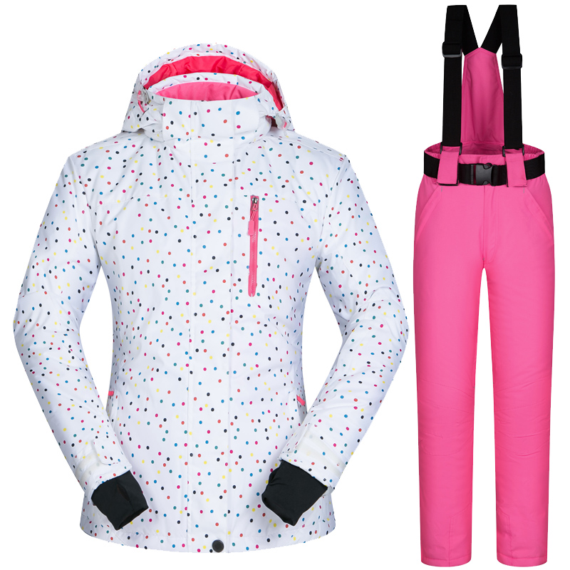 Ski Jacket Women Winter Outdoor Snowboard Jacket and Pant Ski Coat Snow Jacket Women Ski Suit Windproof Waterproof Breathable цена