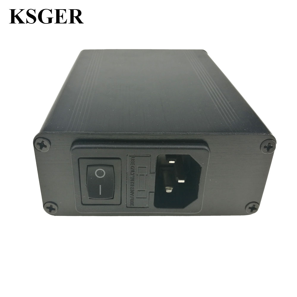 Image 3 - KSGER STM32 2.1S OLED DIY T12 Soldering Iron Station FX9501 Alloy Handle Electric Tools Temperature Controller Holder WeldingElectric Soldering Irons   - AliExpress