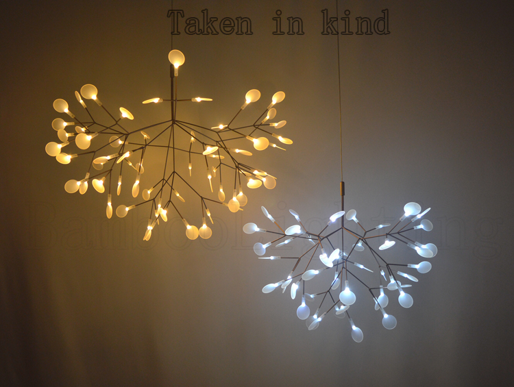 Small heracleum leaves led pendant lamp tree branch chandelier small heracleum leaves led pendant lamp tree branch chandelier light twigs suspension lighting in pendant lights from lights lighting on aliexpress mozeypictures Images