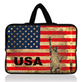 "USA Flag 14"" Laptop Sleeve Case Bag Cover+Hide Handle For 14"" HP ENVY M4,HP Pavilion dm4"