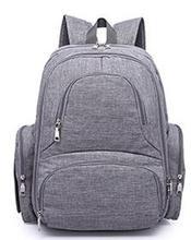 Promocja! Pielucha dla niemowląt torba podróżna plecak na wózek torby na pieluchy mumia wózek i wózek wody dowód torebka mata tanie tanio 0 9kg zipper (30 cm Max Długość 50 cm) Nylon Drukuj 15cm 35cm L X E M 44cm