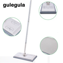 360 Household Degrees Rotatable Dust Removing Mop Antistatic Dirt Grime Hair Cleaning Detachable Flat