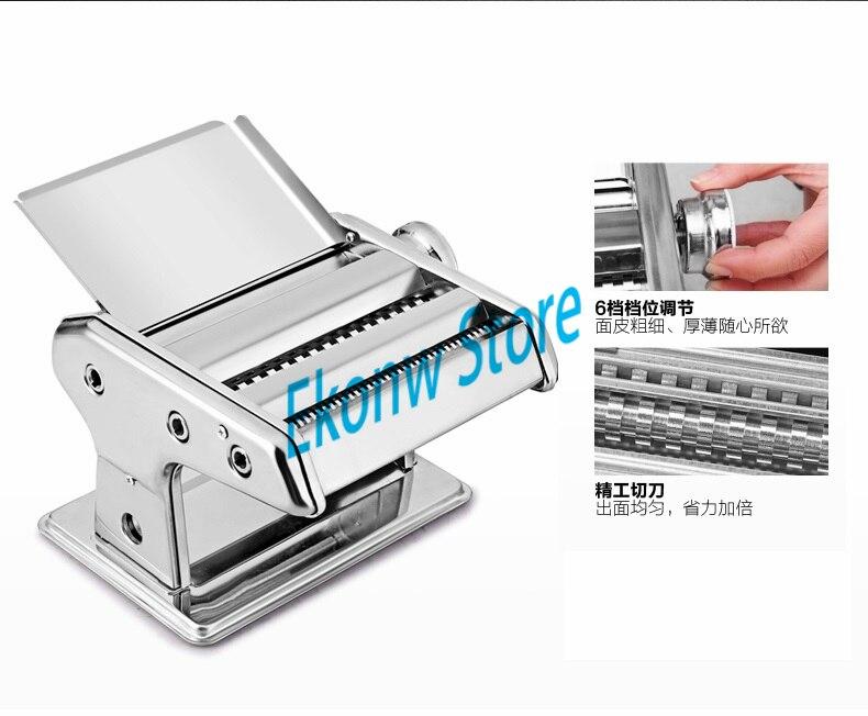 Free shipping(CDEK) to RS 1pc 2 blades of noodle machine Manual dumplings wonton skin roll Pasta kitchen tool pasta machine - 2