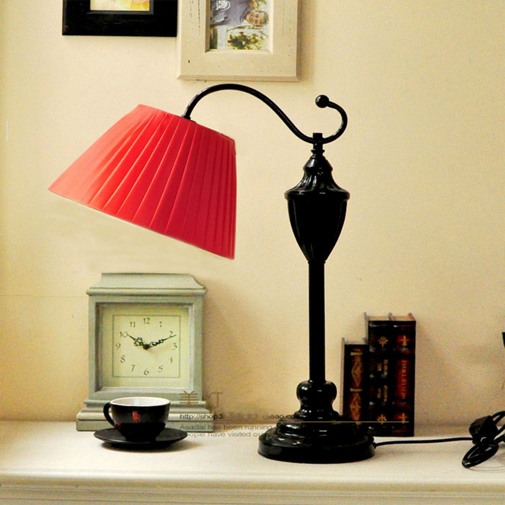Bedroom lamp bedside lamp simple European modern American living room decorative table lamp study table lamp