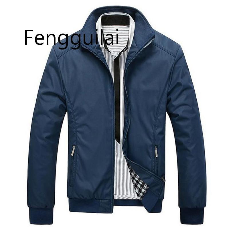 Новая ОСЕНЬ Мода Куртка Мужская Свободная Повседневная Мужская Куртка Спортивная Одежда Куртка Бомба