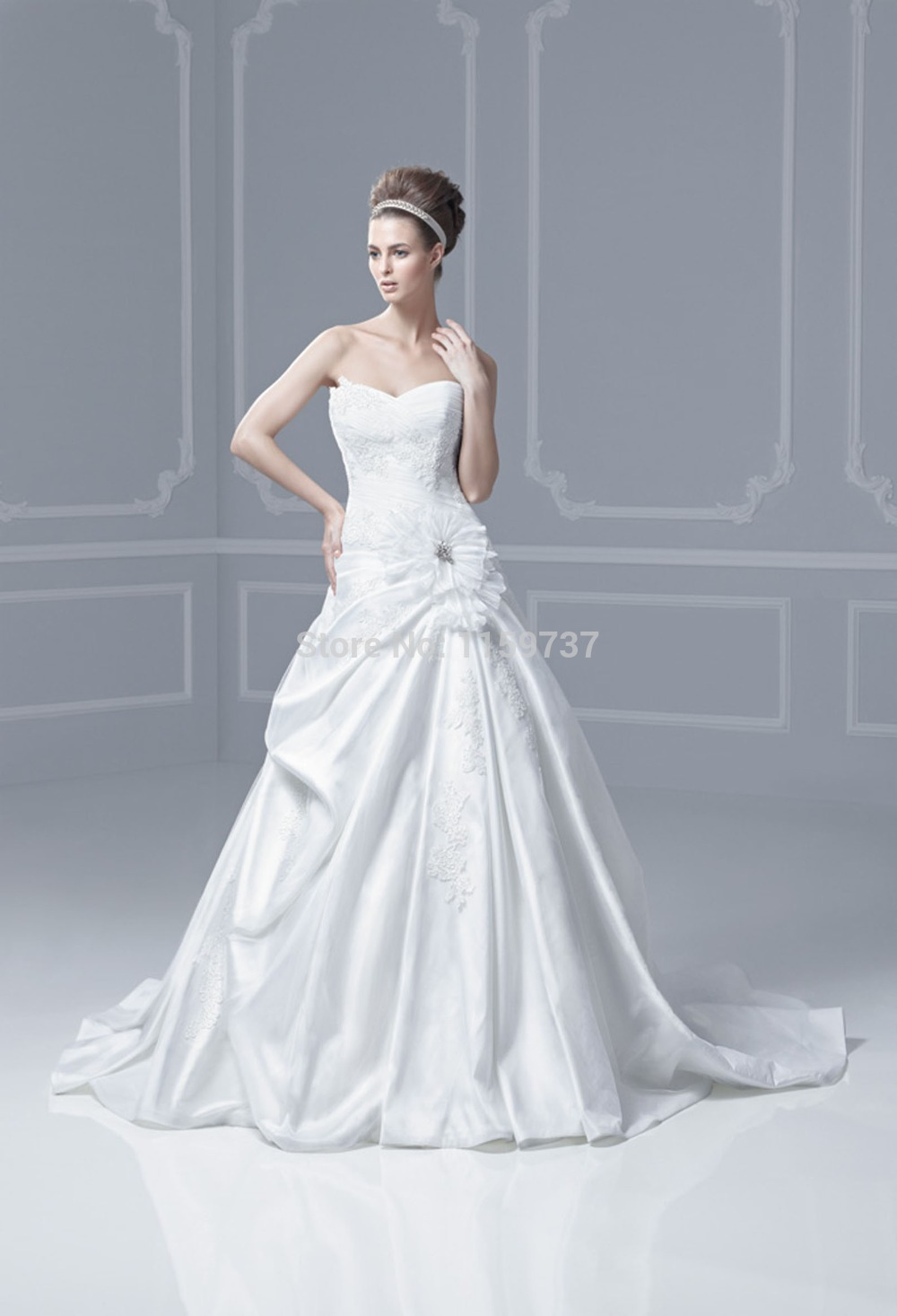 Nice Vestido Novia Paula Echevarria Crest - All Wedding Dresses ...