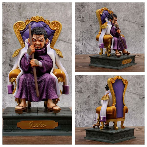 Anime One Piece Navy Headquarters Senior General Issho Wisteria Tiger Sitting Ver. PVC Action Figure Collection Model Toys DollsAnime One Piece Navy Headquarters Senior General Issho Wisteria Tiger Sitting Ver. PVC Action Figure Collection Model Toys Dolls
