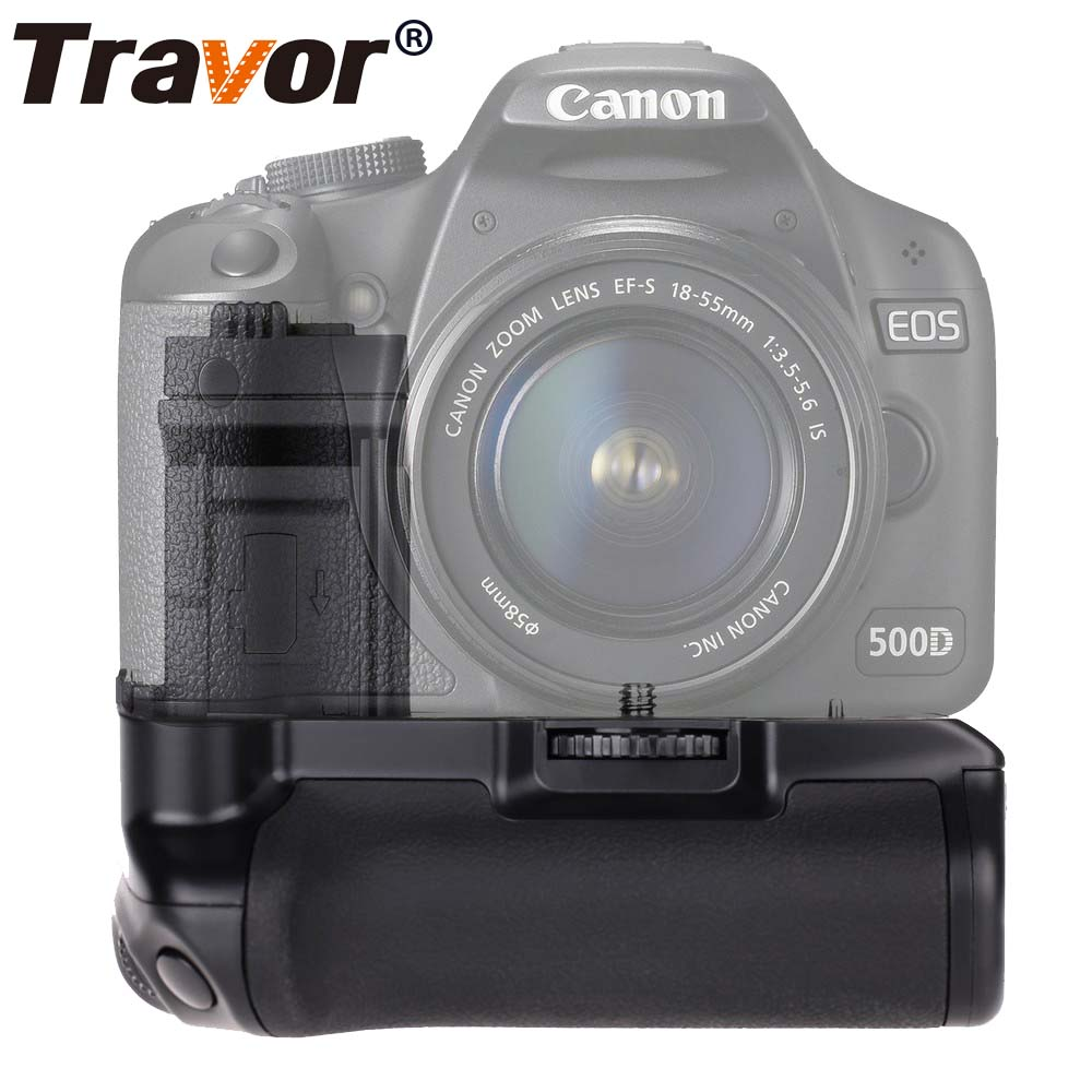 Travor Vertical Battery Grip for Canon 500D 450D 1000D Rebel Xsi XS T1i camera work with