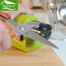 Elektrische Messerschärfer Professionelle Tasche Diamant Spitzer Speichern Aufwand Armschutz Keramik Safty Küche Werkzeug HZN1012