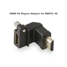Tilta TA T01 HDA 90 Black HDMI 90 Degree Adapter for BMPCC 4K