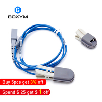 BOXYM Veterinary Blood Oxygen Probe for Handheld Pulse Oximeter For Cats Dogs Foxes and Other Pets Veterinary