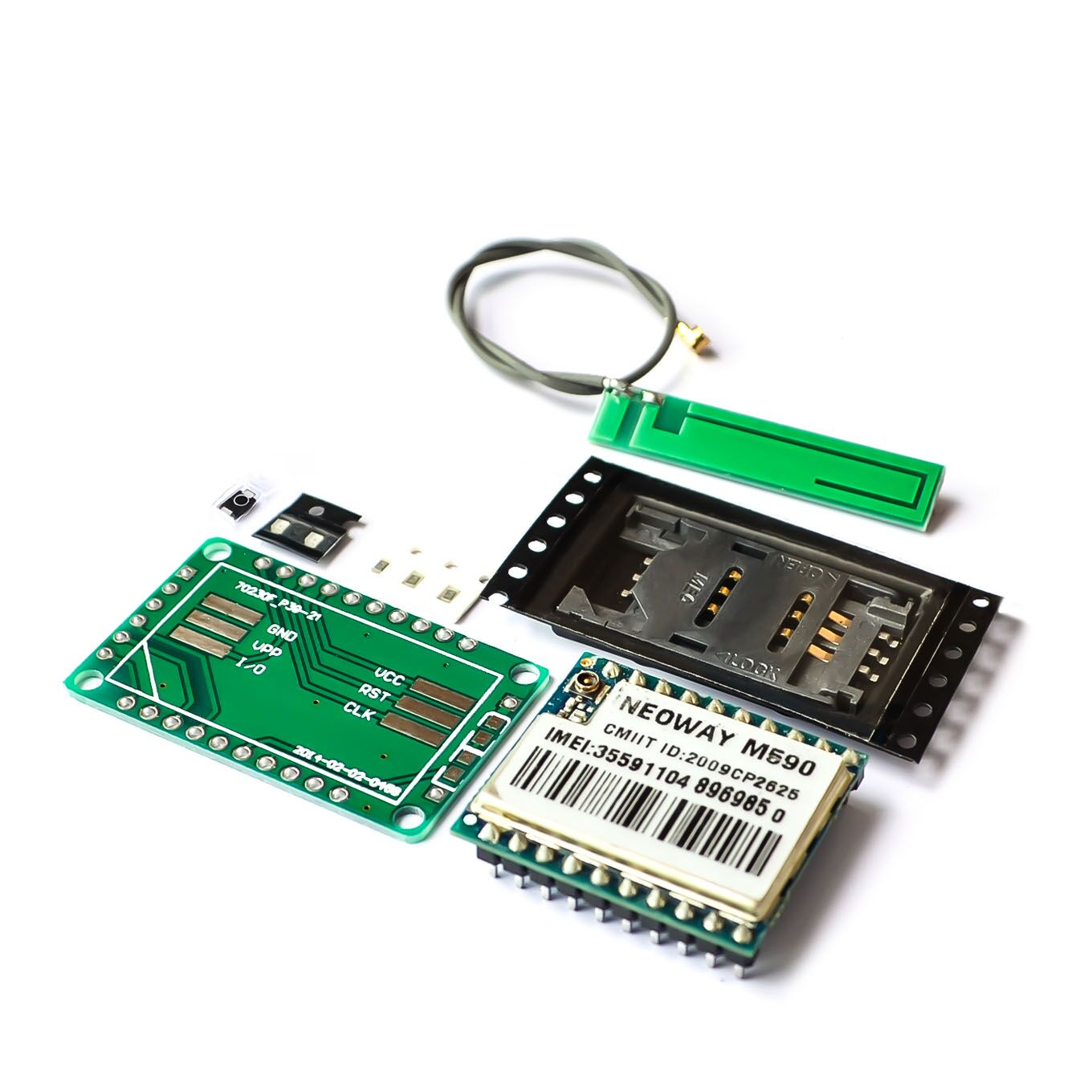 US $1 01 8% OFF|DIY KIT GSM GPRS M590 gsm module Short Message Service SMS  module for project for Arduino remote sensing alarm-in Integrated Circuits