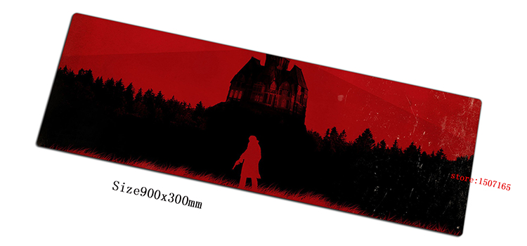 The evil within 900x300x3mm anime mouse pad gaming mousepad gamer mouse mat pad computer High-end padmouse laptop play mats