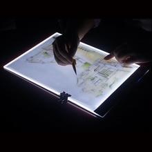 A4 светодиодный Мультфильм свет планшет зарядка через usb оригиналодержателя Свет стола алмазная живопись инструменты для шитья вышивка аксессуары