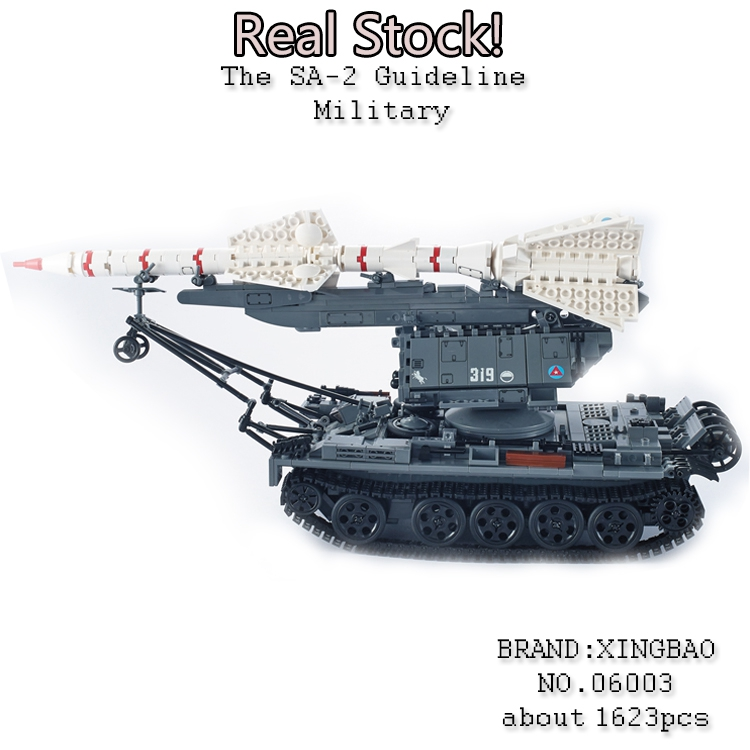 Xingbao 06003 1623Pcs Military weapon Series The SA-2 Guideline Mode Building Blocks Bricks Educational Toys for ChildrenGifts emmett cox retail analytics the secret weapon